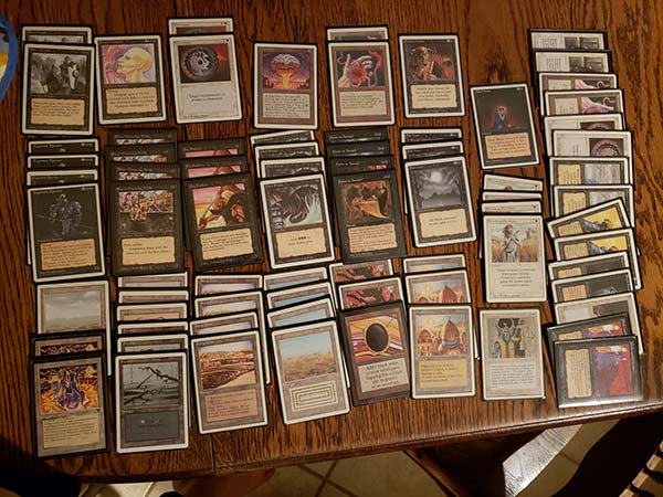 Middle School to Old School Magic The Gathering