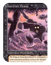 old school magic guardian beast